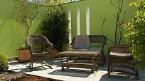 V areálu Garden Tulln si každý najde příjemné místo k odpočinku.