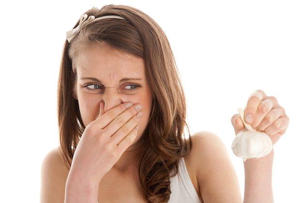 Česnekový zápach není pro každého