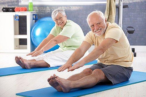 cvičit se dá v každém věku