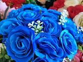 Modré růže jsou originální