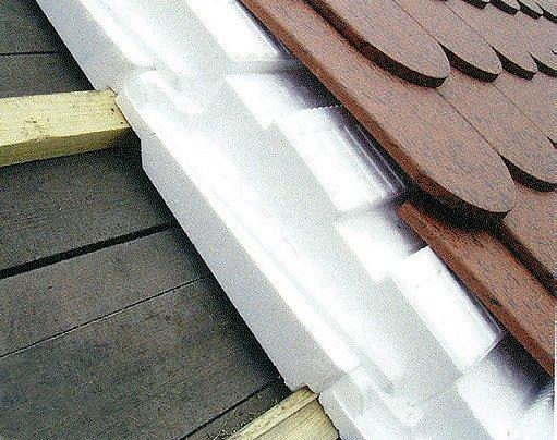 Nadkrokevní izolace z tvarovaných dílců Thermo Plus