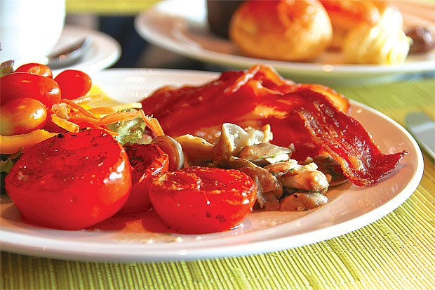 smažená rajčata
