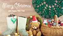 Zelený vánoční stromek se může objevit i jako motiv pro ruční práci.