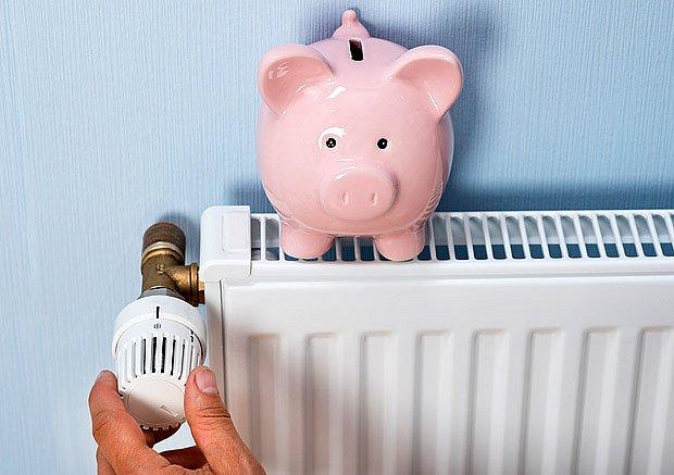 Zvýšení teploty o 1°C znamená zvýšení spotřeby energie o 6%