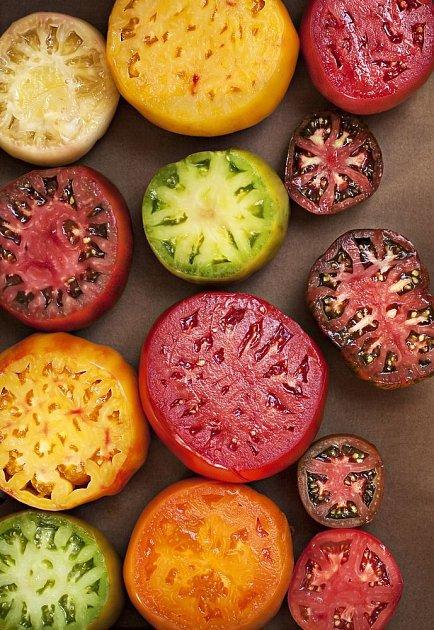 Steaková rajčata snadno nakrájíme na plátky