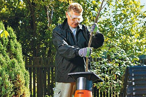 Pro menší zahradu stačí elektrický drtič