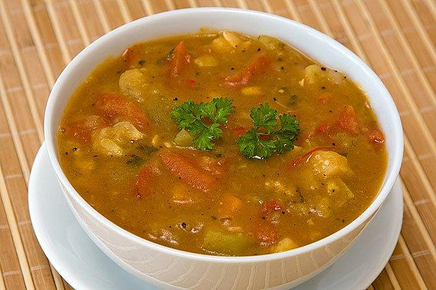 drožďová polévka se zeleninou