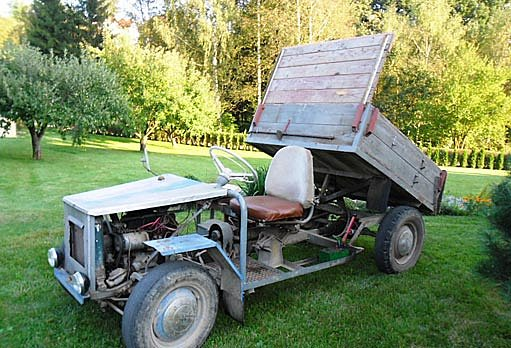 Malotraktor ze Škody Octavia