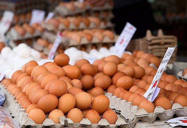 Vajíčka lze prodávat na trzích