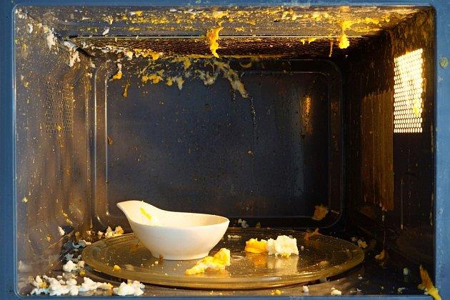 Celé vejce může v mikrovlnce způsobit mimořádnou paseku.