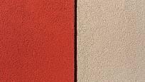 Barvu omítky volte uvážlivě