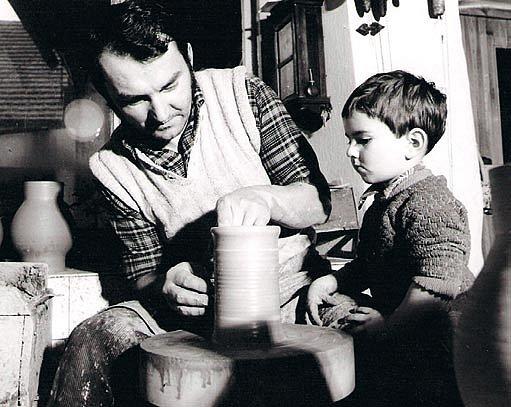 Rudolf Volf ml. se svým synem Martinem