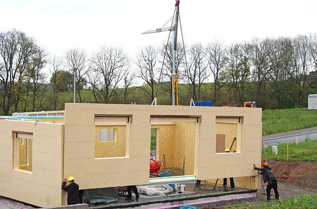 Malometrážní montované domky patří do skupiny nízkoenergetických domů.