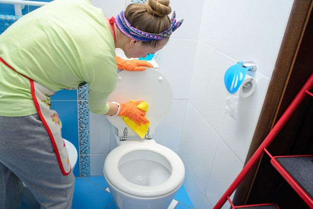 Úklid wc