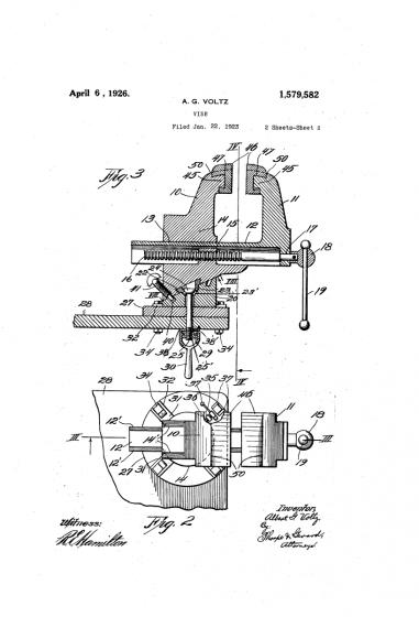 patent z roku 1923