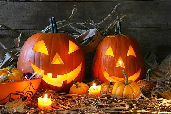 Halloween - vyřezané dýně