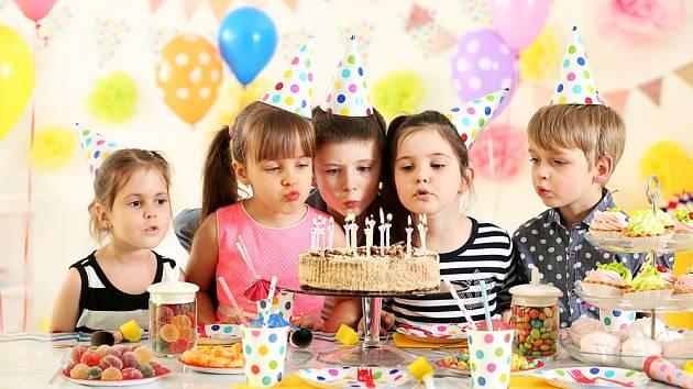 Dětská narozeninová párty.