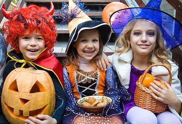 Halloween si užívají hlavně děti