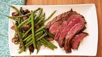 Flanksteak neboli steak z hovězího pupku