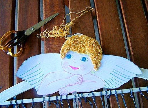 Ramínko s andělíčkem