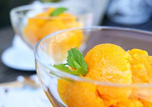 mrkvová zmrzlina