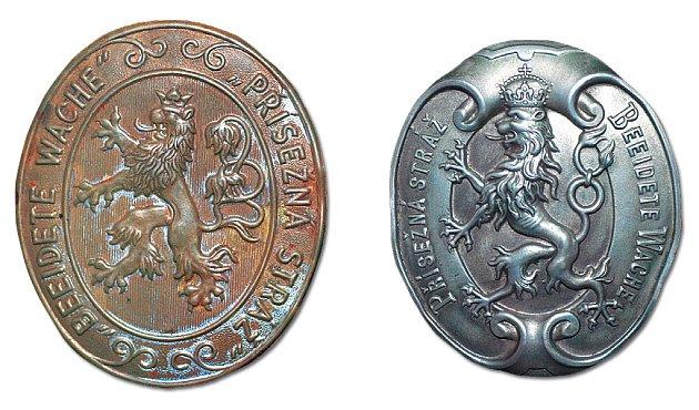 Odznaky porybných z období první republiky a Rakouska Uherska