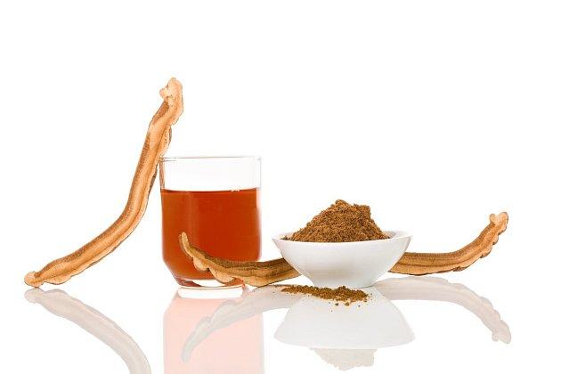Pokud chcete zkusit, zda lesklokorka prodlužuje život, 5 g prášku rozmíchejte ve sklenici vody a vypijte.