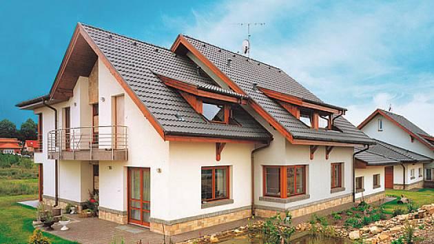 klasická sedlová střecha