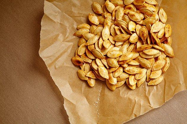 Semínka jsou skvělá alternativa k chipsům.