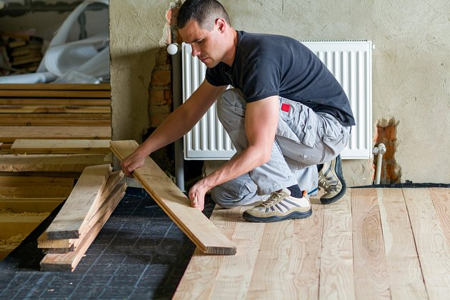 Rekonstrukce podlah je velmi častá a obvykle i nutná.