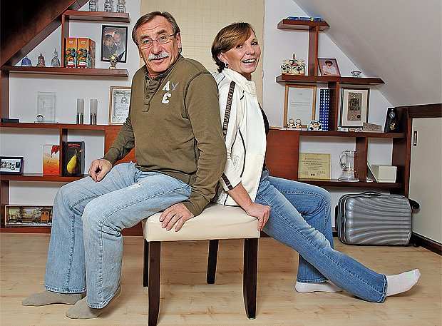 s partnerkou Hankou Kousalovou