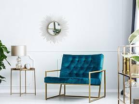 Výrazně modré tóny oživí interiér