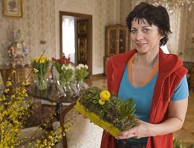 Výstava květin v Lysicích