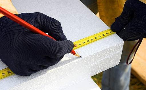 polystyrenové zateplovací desky