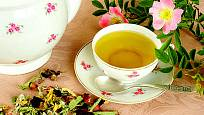 Růžový čaj (čaj z růže)
