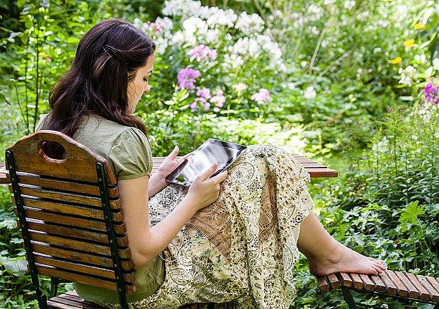 V přírodní zahradě budete mít více času na odpočinek