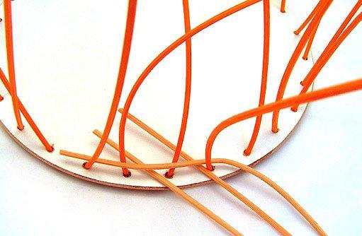 Výroba košíku z pedigu