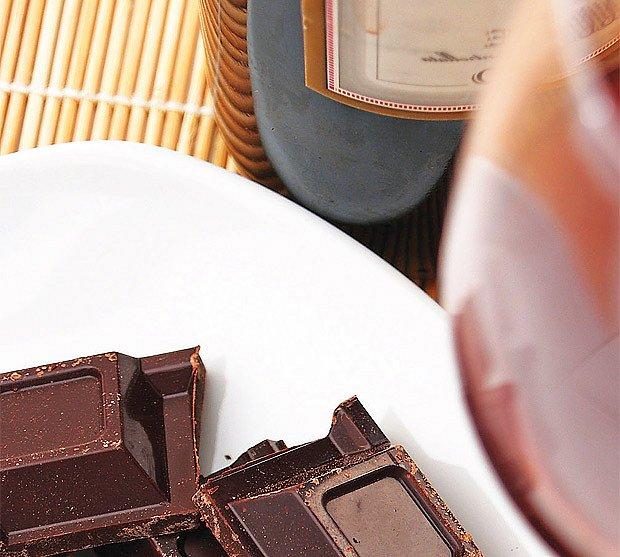 Vína k čokoládě