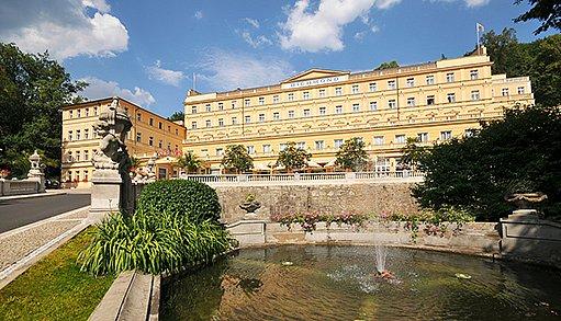 Karlovy Vary - lázně Richmond