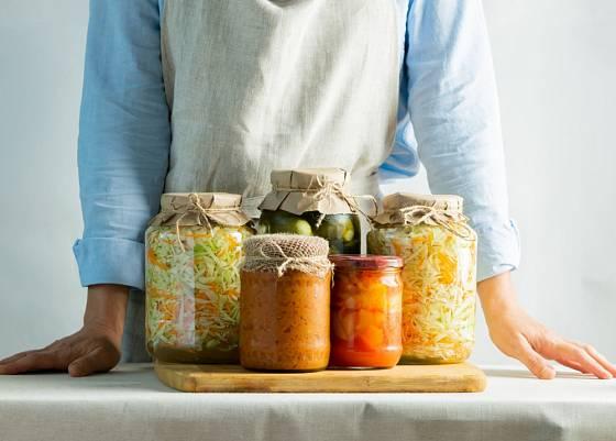 Fermentovaná zelenina je zdroj vitaminů přes zimu.