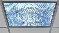 Difuzér rozptyluje světlo rovnoměrně tak, aby neoslňovalo