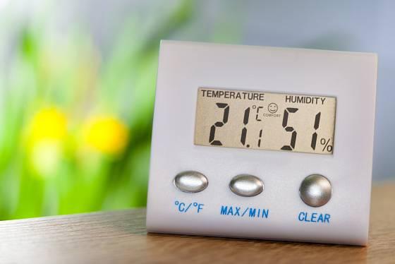 Komfortní pocit navodí nejen správná teplota, ale také dostatečná vlhkost vzduchu.
