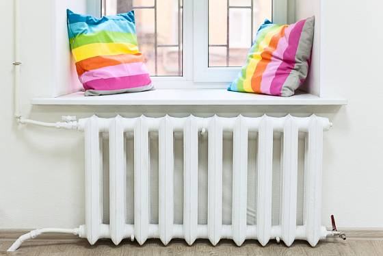 Čistý a funkční radiátor je součástí interiéru
