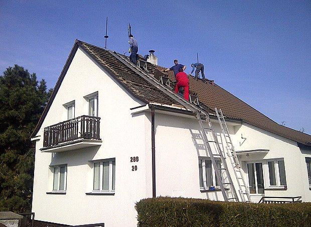 Přestavba podkroví na klíč od společnosti IP Polná