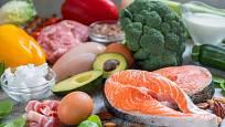 Ketonová dieta je plná zeleniny a bílkovin.
