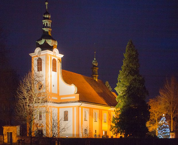 Kostel sv. Anny ve Skalici u České Lípy