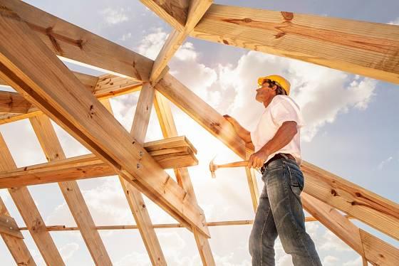 Při stavbě je důležité také počasí