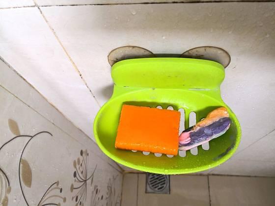Odkládací miska na mýdlo.