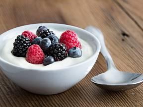 Jogurt je zdravý a osvěžující