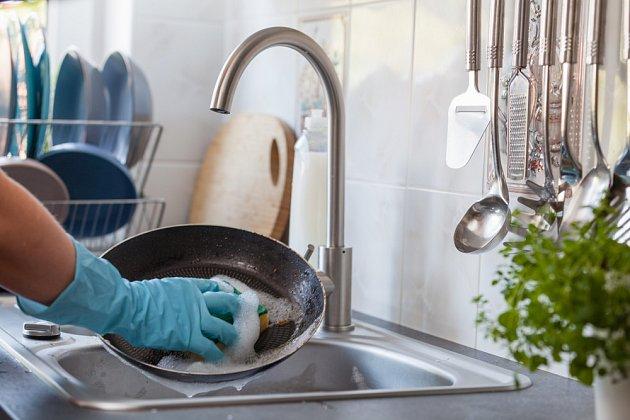 Nakonec umyjte obvyklým způsobem